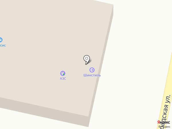 Шинстиль на карте Королёва