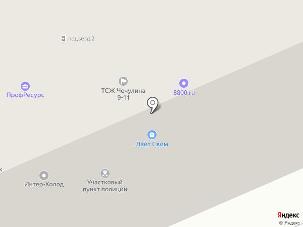 Semantick на карте Москвы