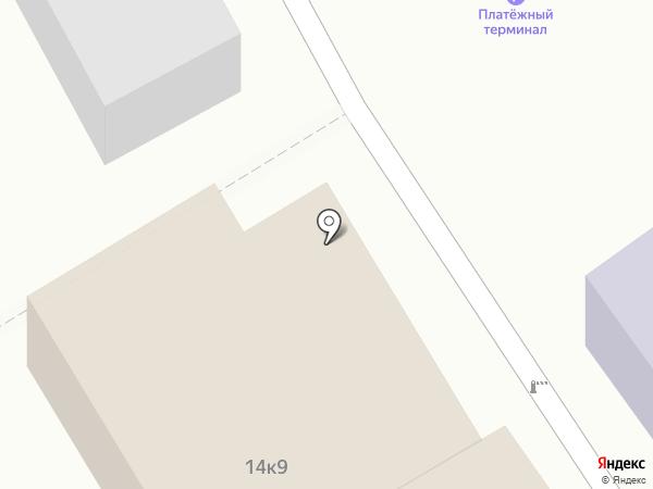 Альтерна на карте Старого Оскола