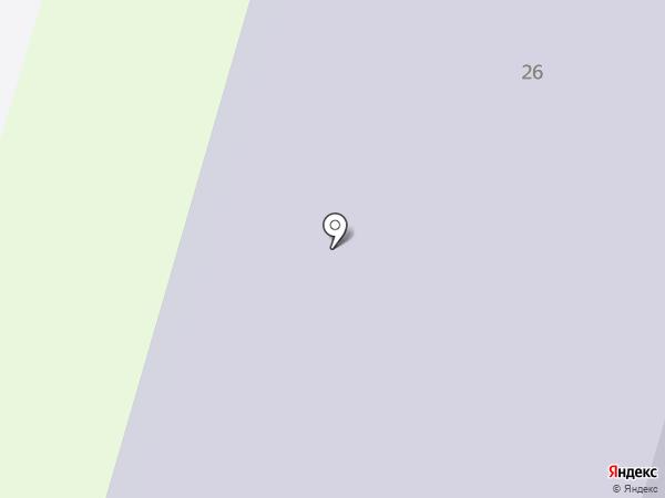 Средняя общеобразовательная школа №5 на карте Пушкино