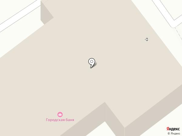 Городская баня на карте Старого Оскола