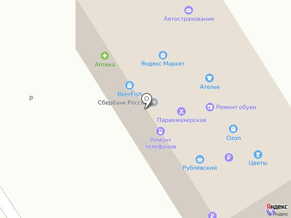 Рублёвский на карте Растуново