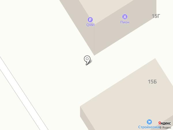 Чара на карте Растуново