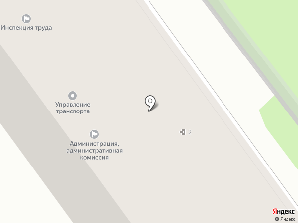 Управление транспорта и связи на карте Старого Оскола