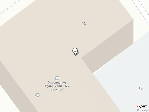 Информационно-аналитический отдел на карте Старого Оскола