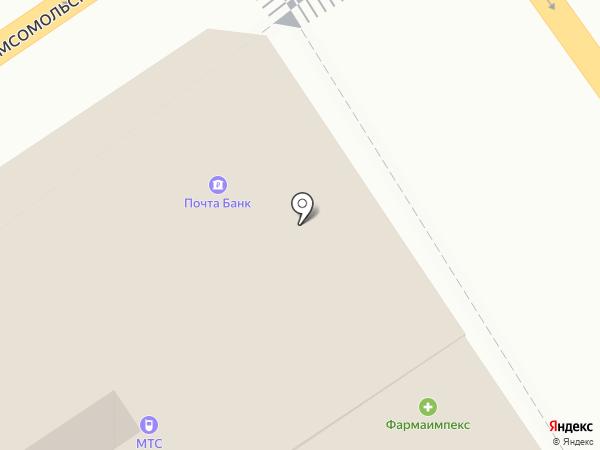 Почта Банк, ПАО на карте Старого Оскола