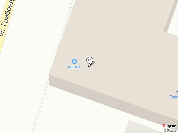 Шиномонтажная мастерская на карте Пушкино