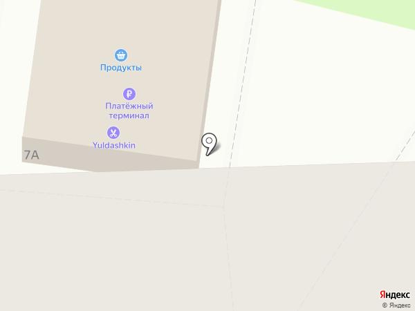 Магазин хозтоваров на карте Юбилейного