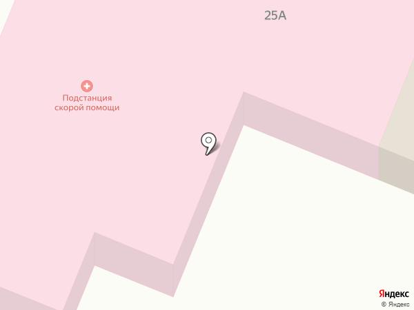 Скорая медицинская помощь на карте Пушкино