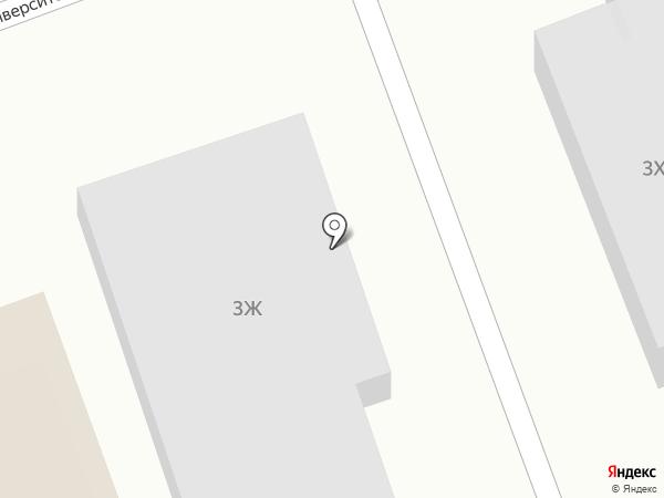 Автомойка на карте Дзержинского