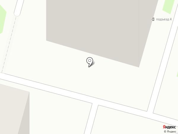 Крыша на карте Пушкино