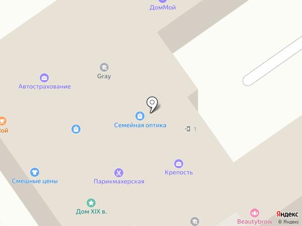 Альтаир-М на карте Старого Оскола