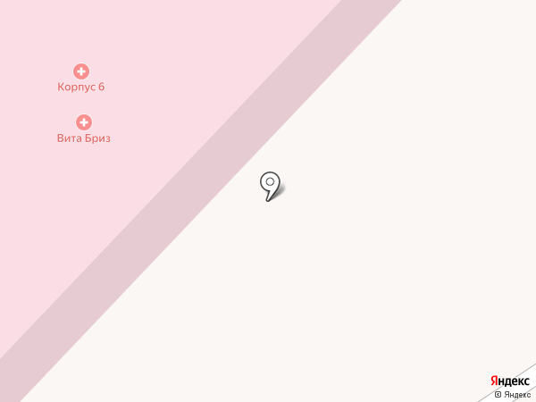 Районная больница им. профессора В.Н. Розанова на карте Пушкино