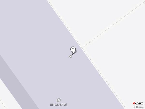 Специальная (коррекционная) общеобразовательная школа №23 на карте Старого Оскола