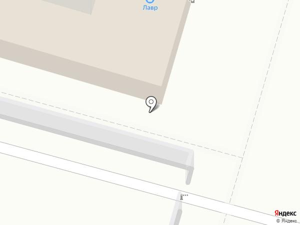 Лавр на карте Пушкино