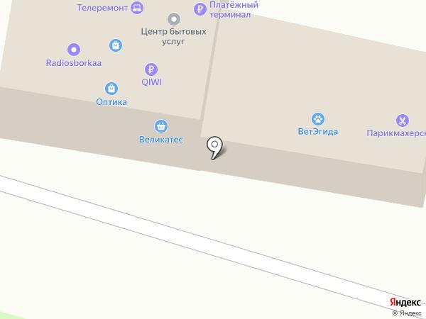 Софи на карте Пушкино