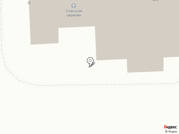 Церковь Спаса Нерукотворного Образа на карте Пушкино