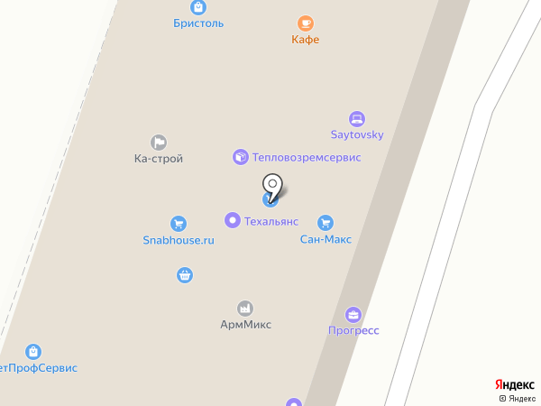 HDSystem на карте Дзержинского