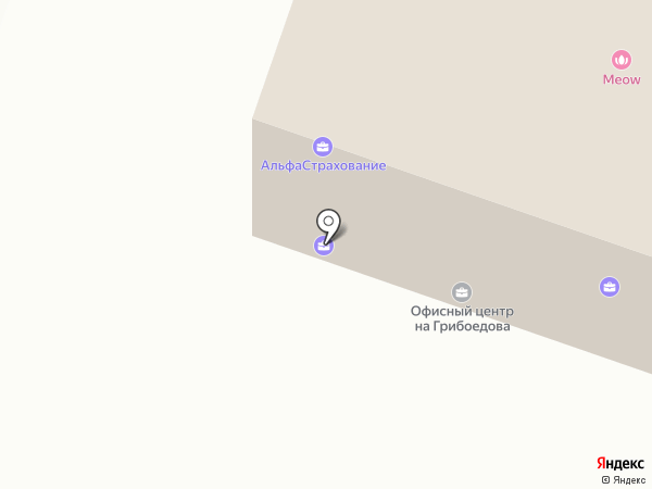 Колибри на карте Пушкино