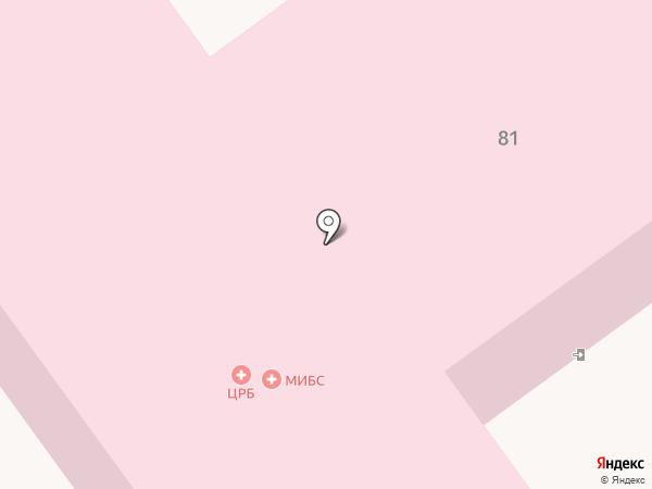 Старооскольская центральная районная больница на карте Старого Оскола