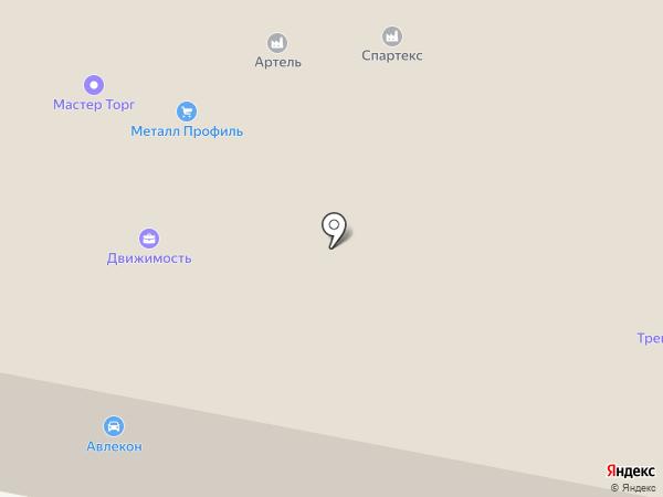 Бегория Трейд на карте Дзержинского