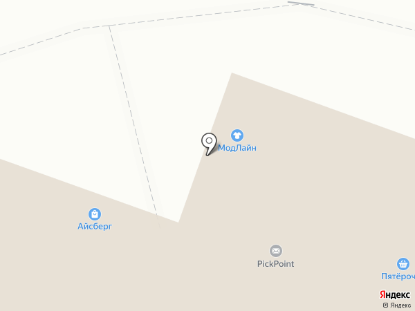 Антошка на карте Пушкино