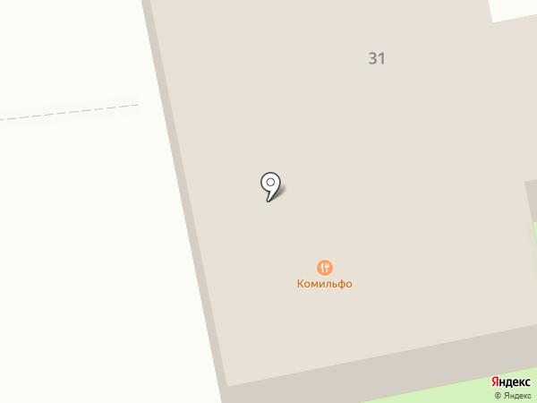 Комильфо на карте Дзержинского