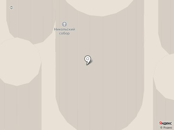 Собор Николая Чудотворца в Николо-Угрешском монастыре на карте Дзержинского