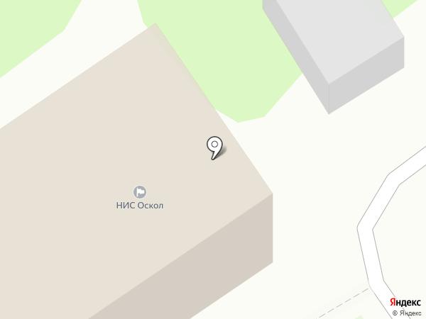 МАКС-М, ЗАО на карте Старого Оскола