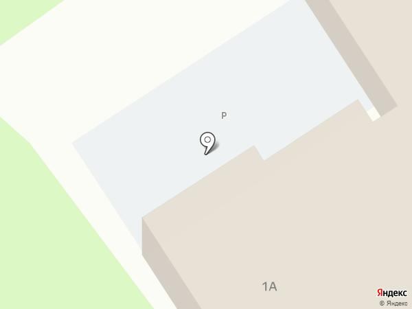 Эллипс на карте Старого Оскола