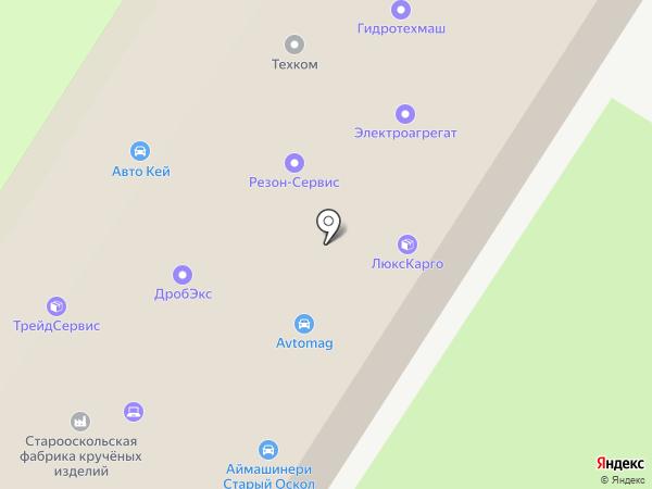 Резон-Сервис на карте Старого Оскола
