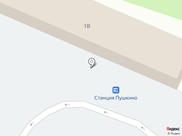 Пивзаправка на карте Пушкино