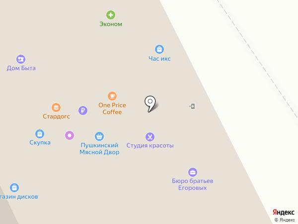 Стардог!s на карте Пушкино