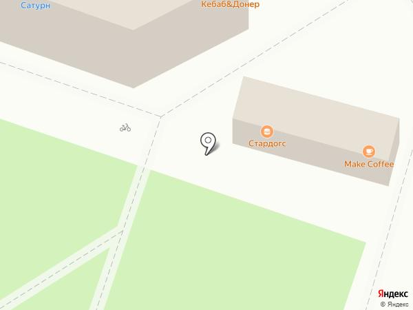 Ангелина на карте Пушкино