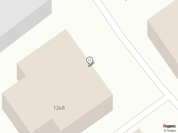 Строящееся административное здание по ул. Коммунистическая на карте Старого Оскола