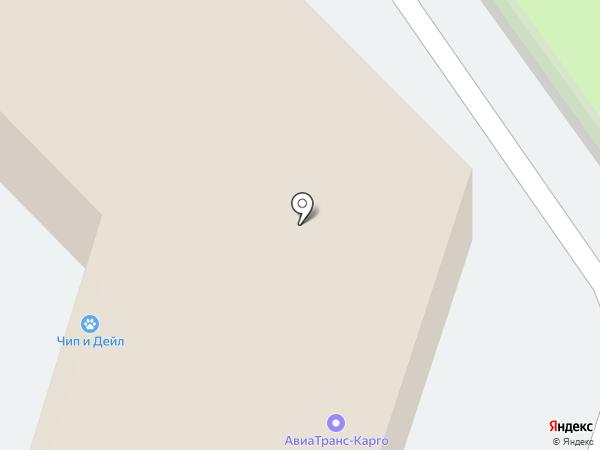 АэроТрансКарго на карте Домодедово