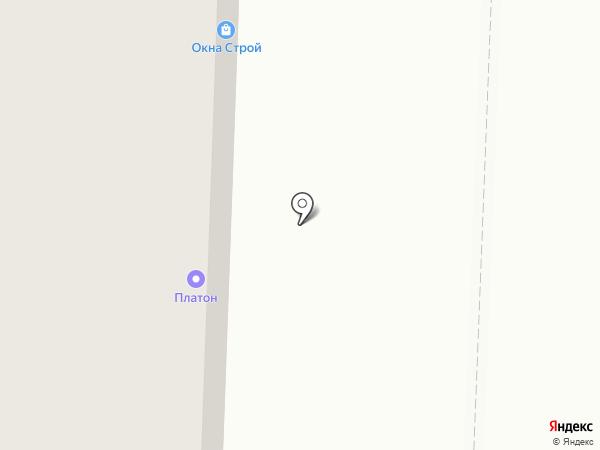 Ригла на карте Дзержинского
