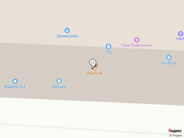 Элайт на карте Юбилейного