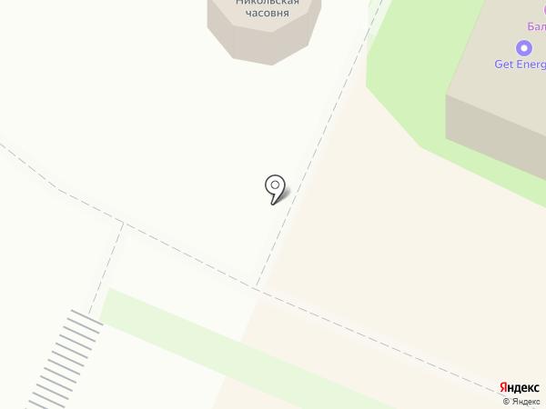 Часовня во имя Николая Чудотворца в Пушкино на карте Пушкино
