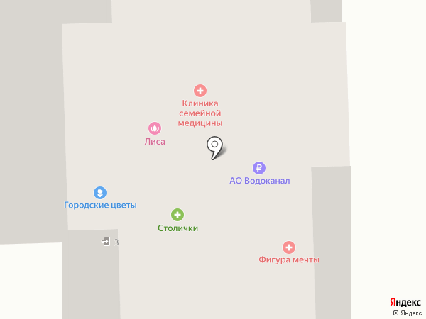 Райв на карте Королёва