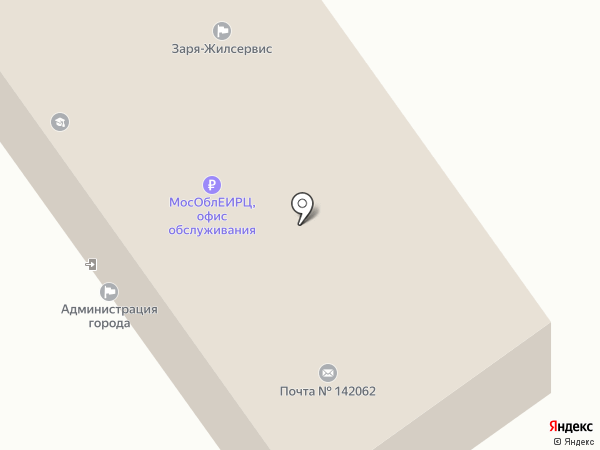 Заря-жилсервис на карте Растуново