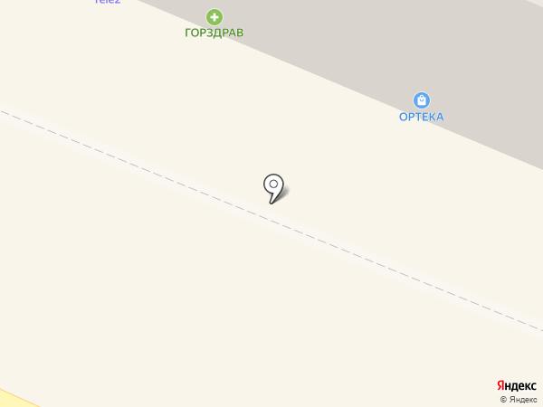 ГорЗдрав на карте Пушкино