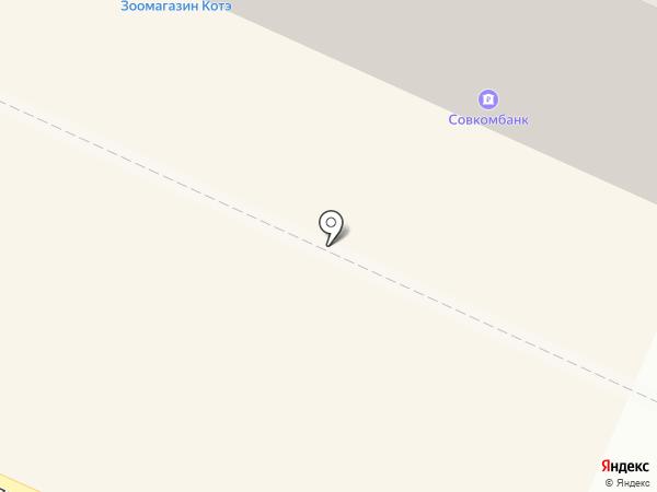 Аптека на Московском 3 на карте Пушкино