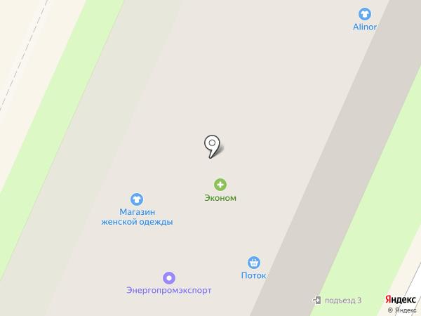 Останкино на карте Пушкино