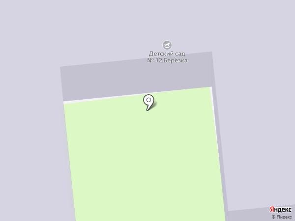 Детский сад №12 на карте Домодедово