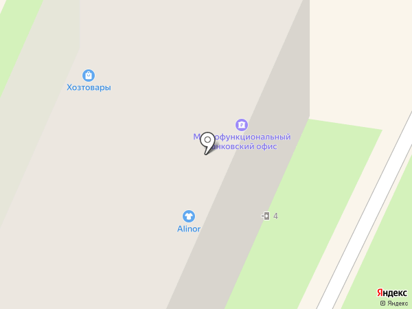 Магазин товаров для дома на карте Пушкино