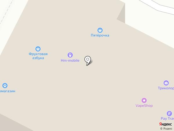 Пятерочка на карте Пушкино