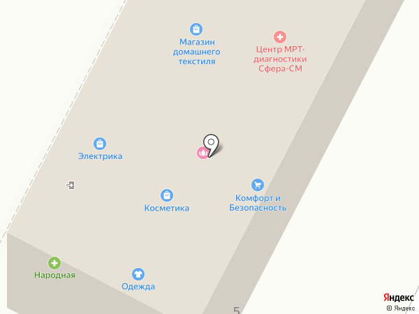 РОСТО на карте Пушкино