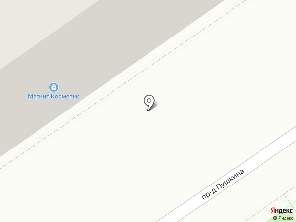 Магнит Косметик на карте Дзержинского