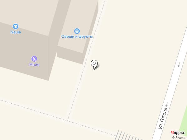 Киоск по продаже колбасных изделий на карте Пушкино